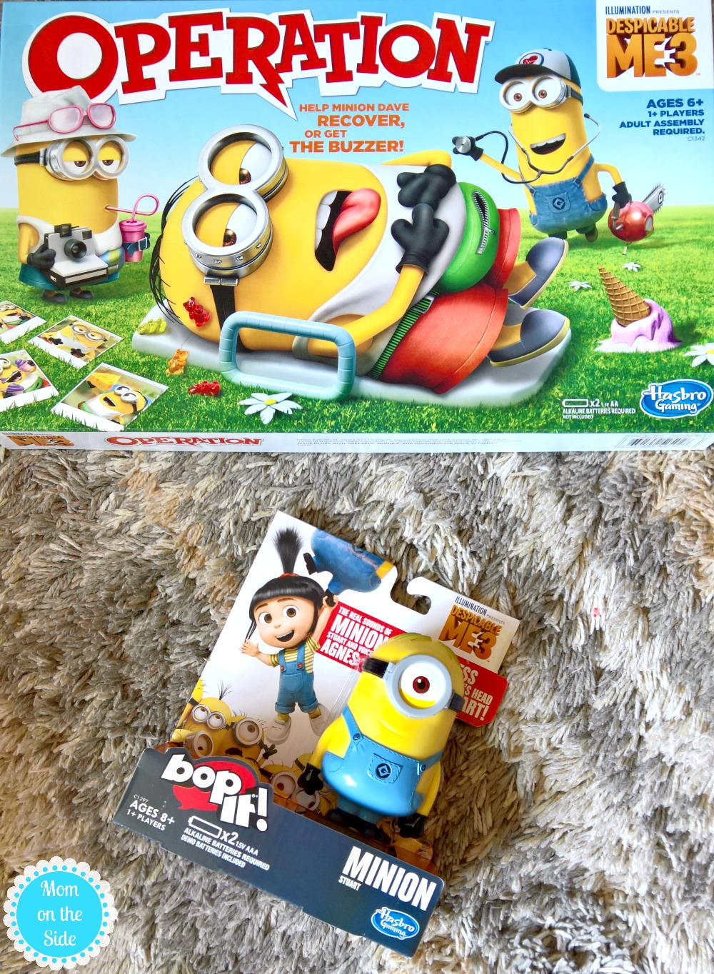 New Minions Games from Hasbro Gaming