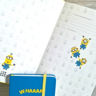Favorite Despicable Me 3 Quotes + Minions Moleskine Notebooks
