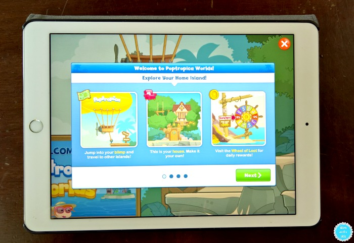 New Poptropica Worlds App