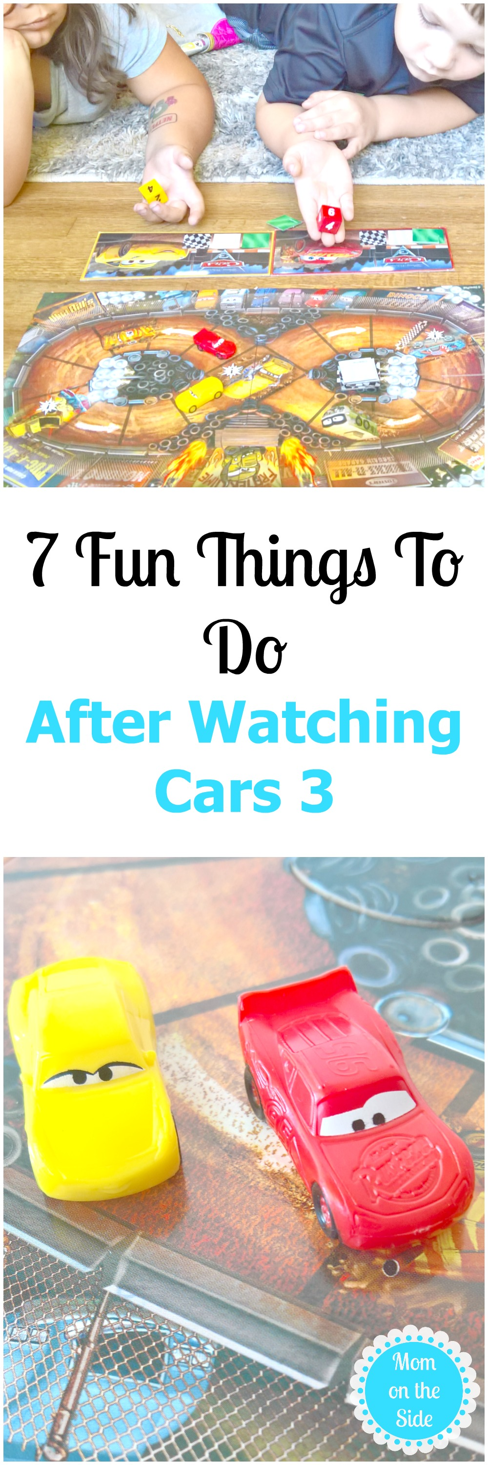 What to do after watching Disney's Cars 3