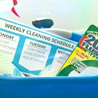 My Weekly Cleaning Schedule + Free Printable