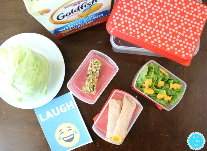 Simple Salad Preschool Lunches for Kids