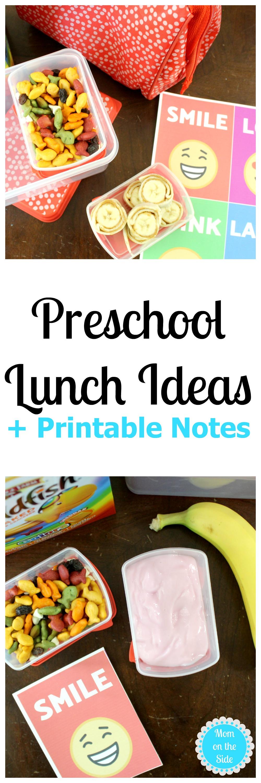 Effortless Preschool Lunches for School