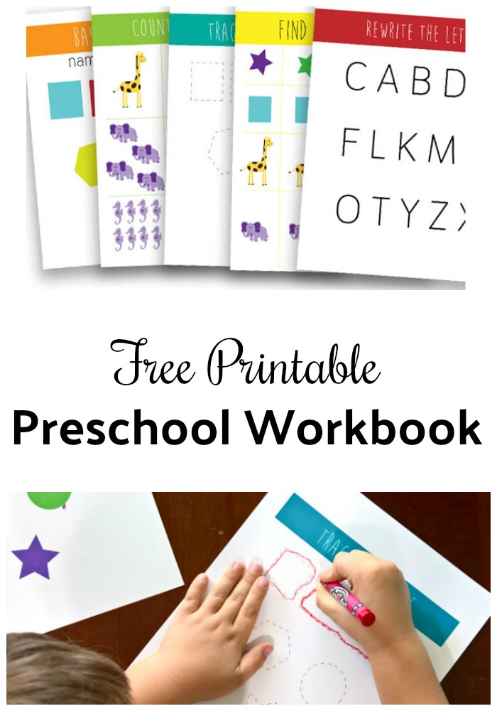 Free Printables for Kids: Printable Preschool Worksheets to help prepare for back to school!