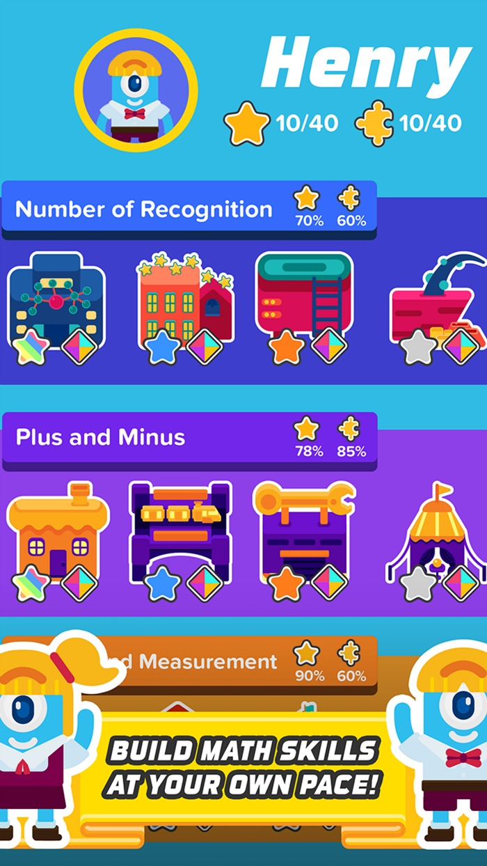 What is Zap Zap Kindergarten Math App