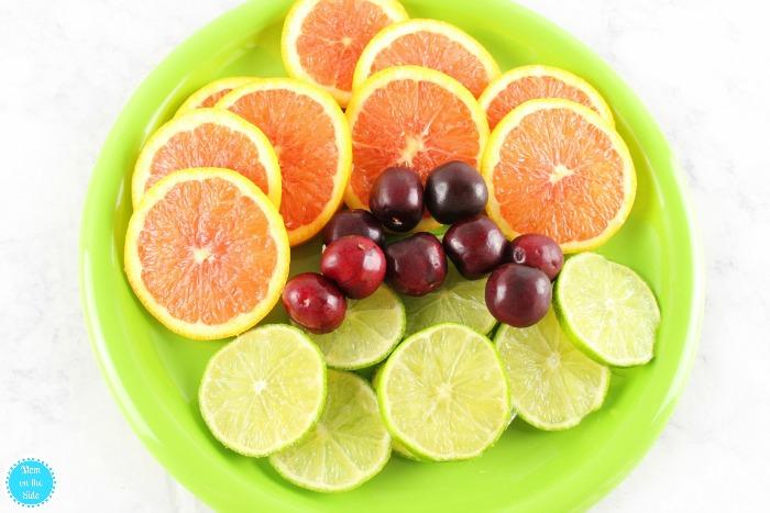 Ingredients for Cherry Citrus Sangria