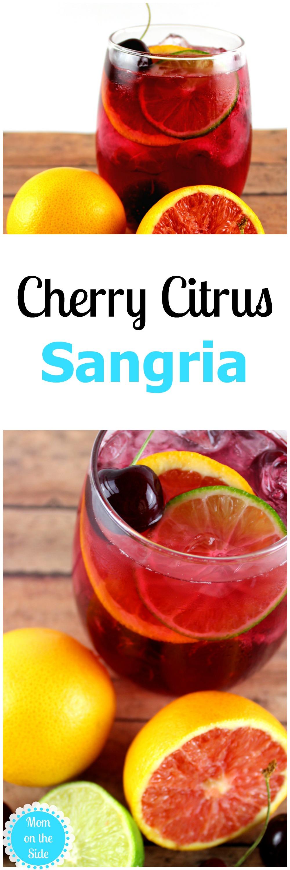 The Best Sangria Recipe for Cherry Citrus Sangria