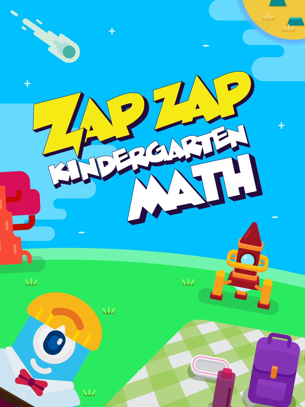 If you have a child ages 3-6, I've got a great new app for learning math! Here are 7 reasons kids should play Zap Zap Kindergarten Math App.