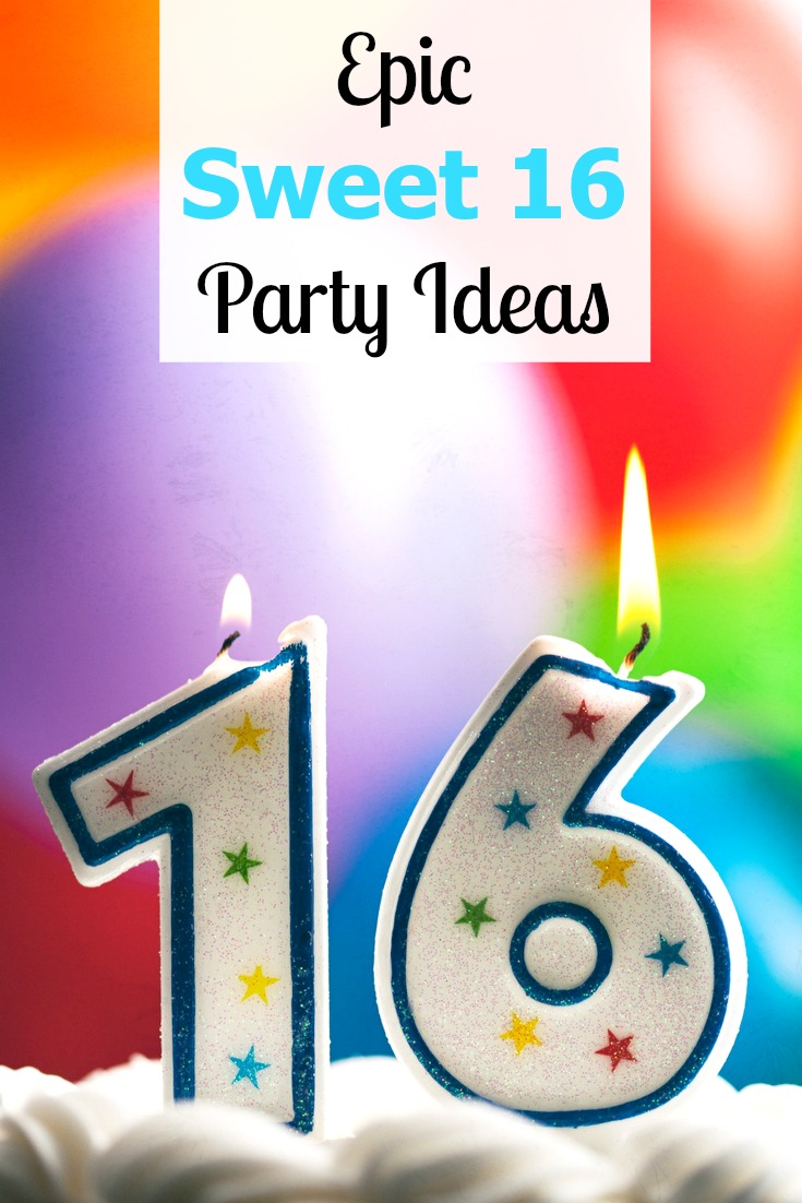 Epic Sweet 16 Party Ideas and Themes for a Memorable Party