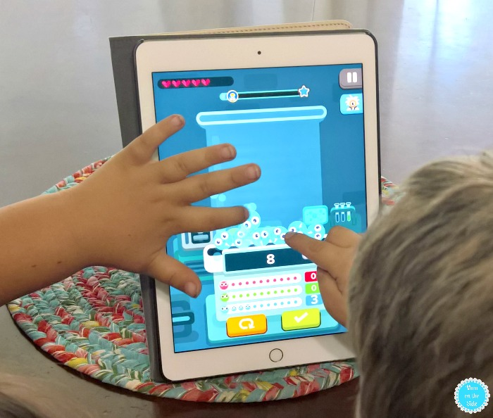 New Learning Math App: Zap Zap Kindergarten Math