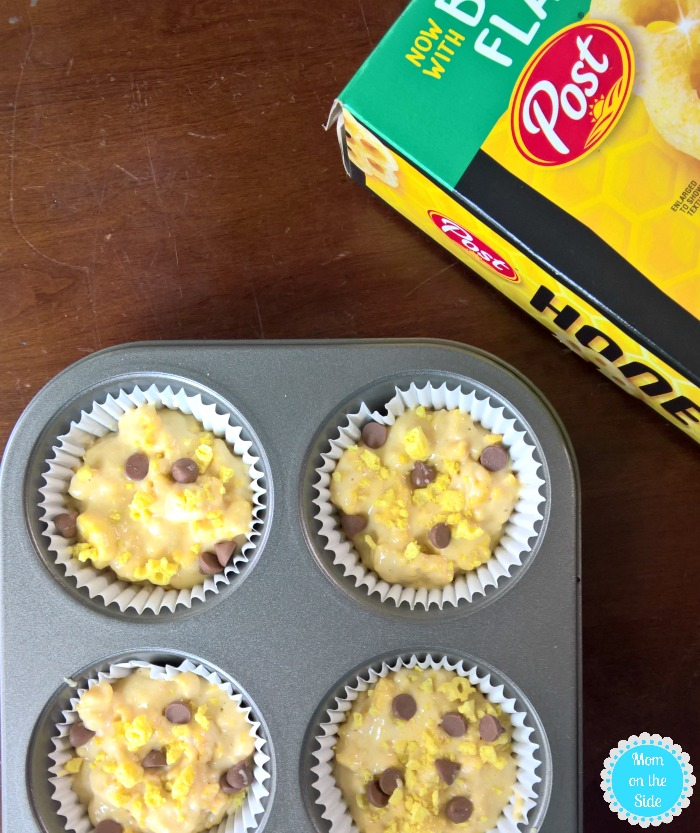 BIG Morning Muffins with Honeycomb and Chocolate Chips