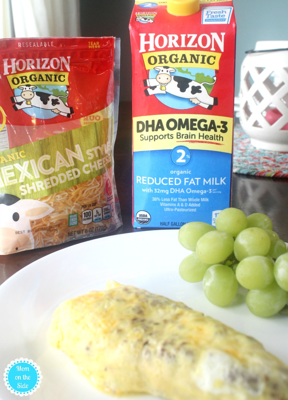 Make a Breakfast Omelette in a Bag with Horizon Organic Milk