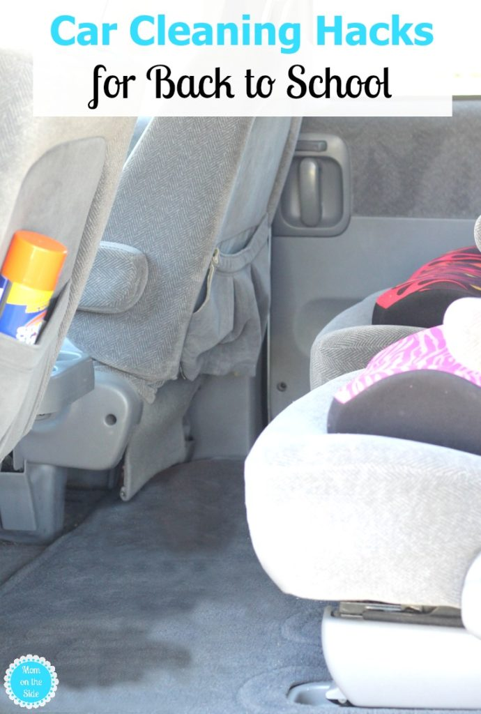 Car Cleaning Hacks for Back to School and Beyond