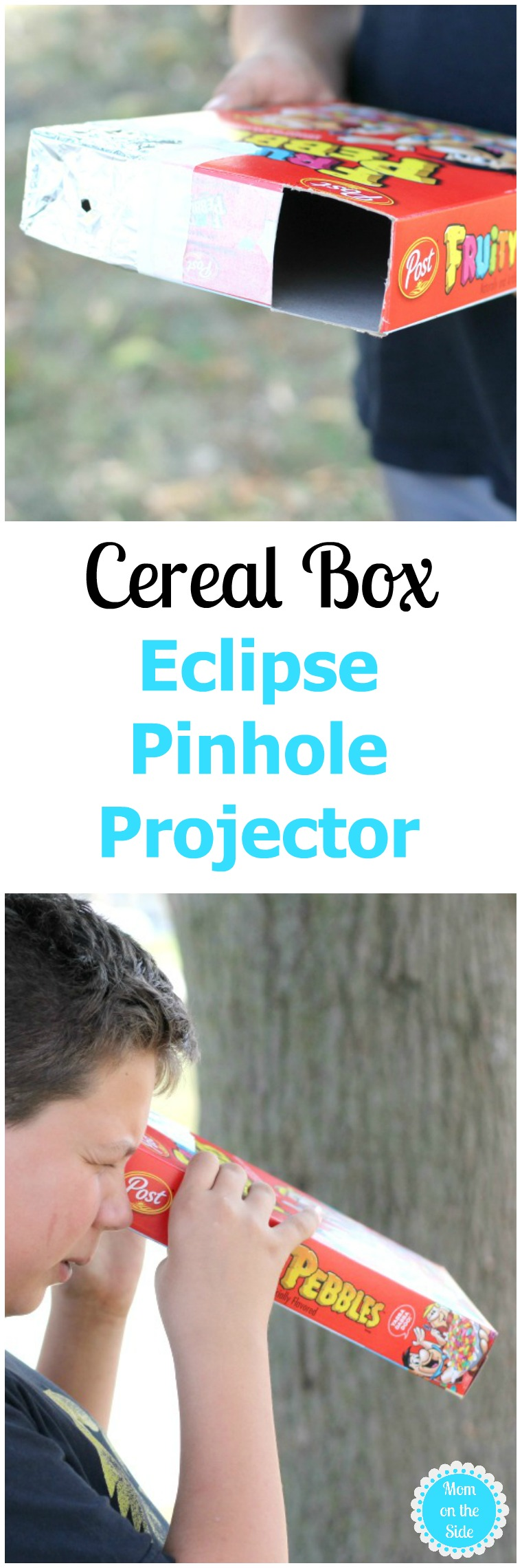 Cereal Box Eclipse Pinhole Projector DIY