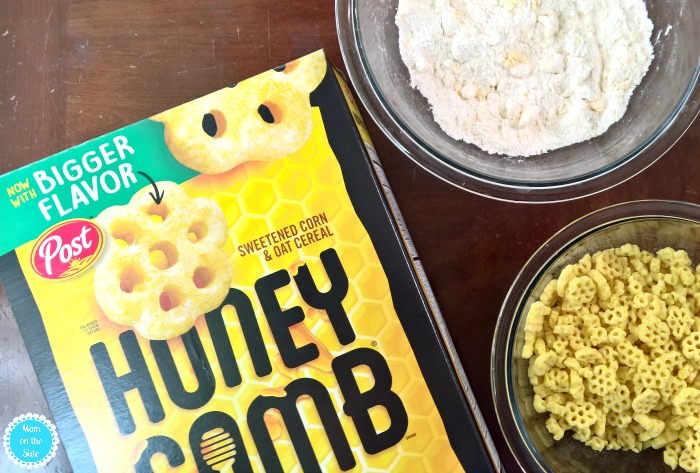 New Bigger Honeycomb for BIG Morning Muffins