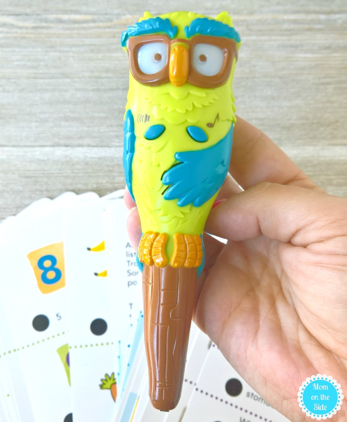 Leaning fun for little ones with Hot Dots. Jr. and Ollie the Owl