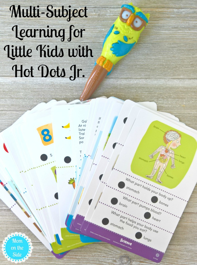 Multi-Subject Leaning Fun for Little Ones with Highlights Hot Dots Jr.