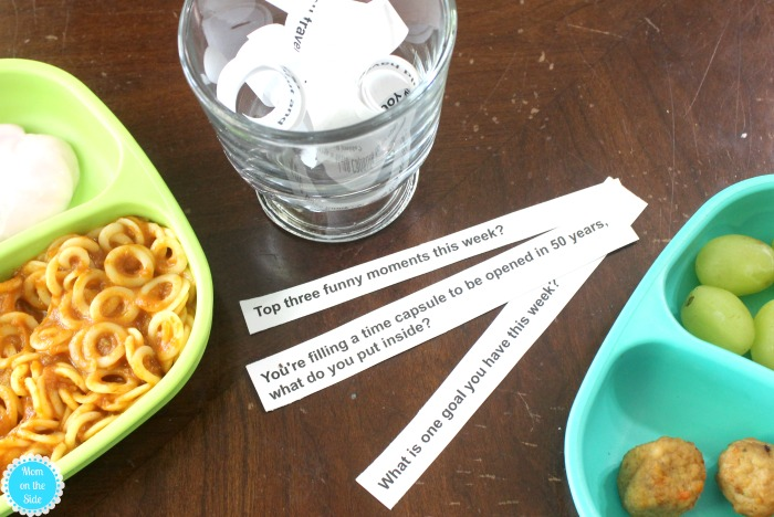 Stress-Free Mealtime Tips for Busy Moms + Dinner Conversation Jar