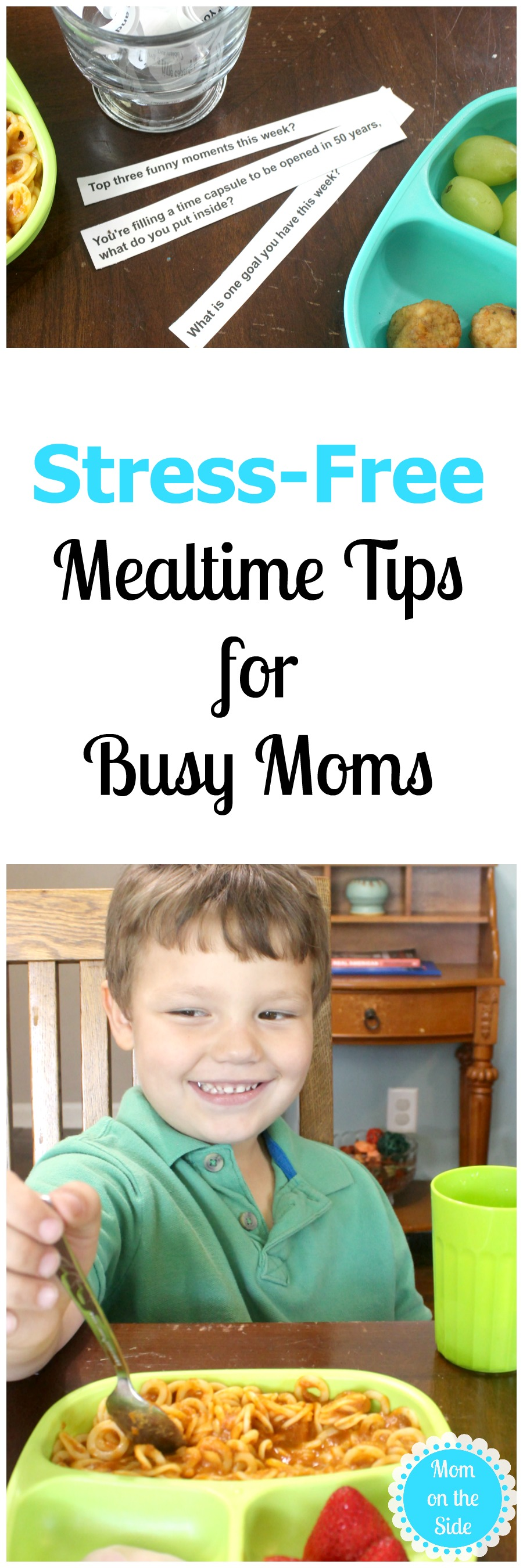 The best stress-free mealtime tips for busy moms to sane during the school year!