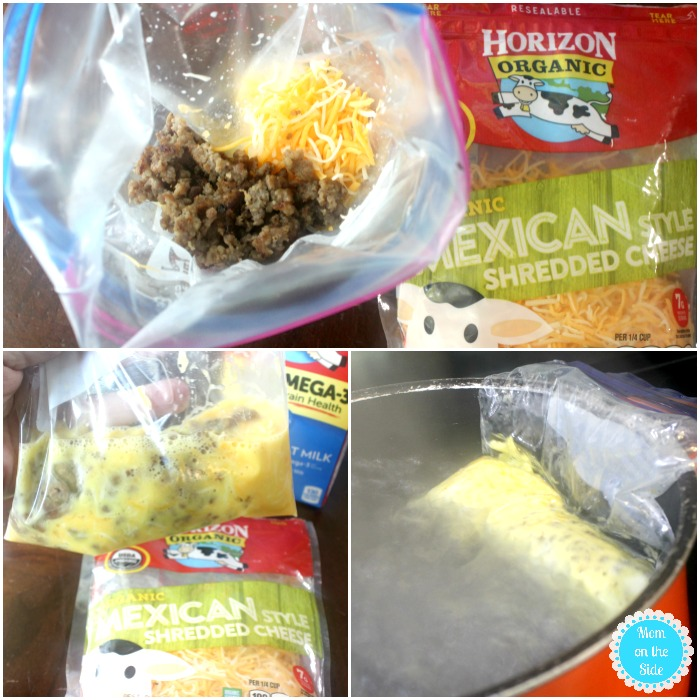 How to Make an Omelette in a Bag