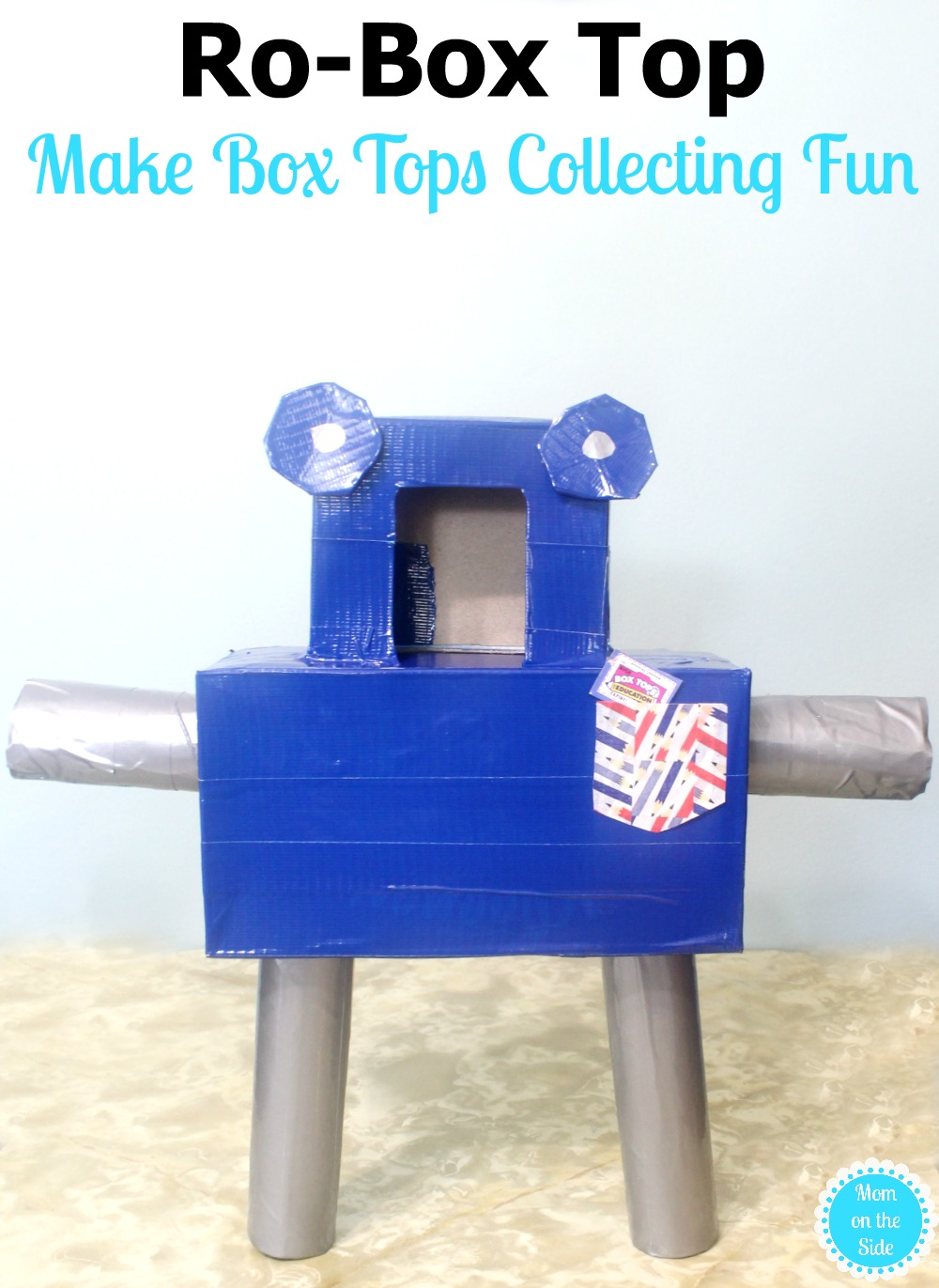 Make Box Tops Collecting Fun with Ro-Box Top Kleenex Box Craft