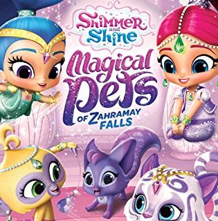 Shimmer and Shine Back to School Supplies and New Magical Pets of Zaharamay Falls DVD