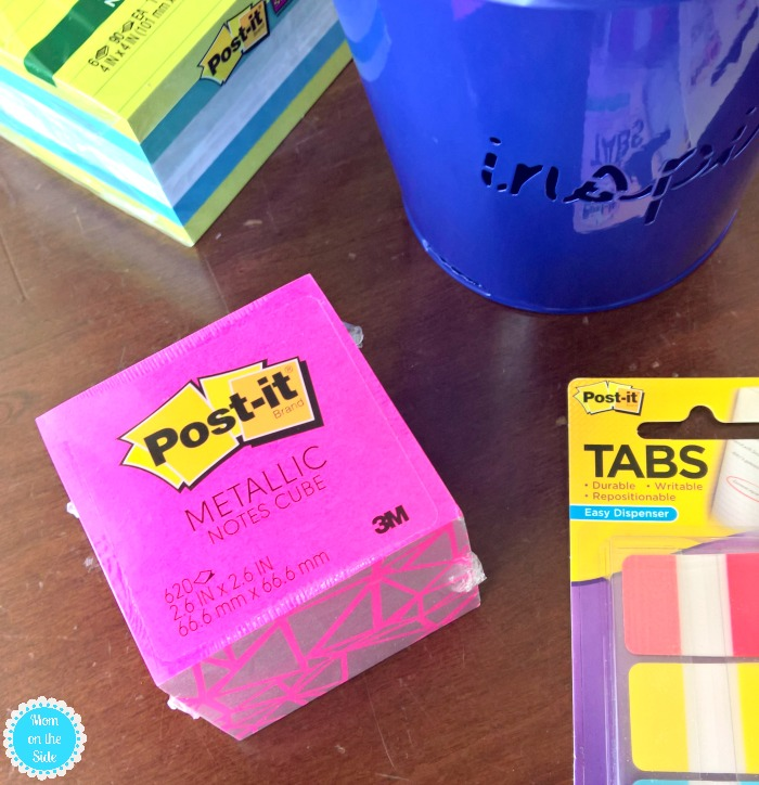 New Post-It Products for Back to School and Preschool Teacher Gift Basket Ideas