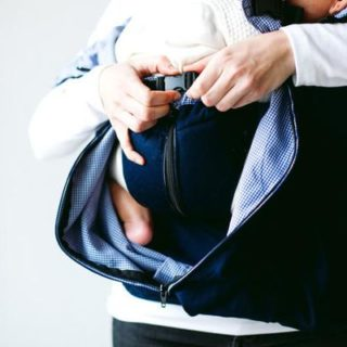 Hwo the Weego Twin Carreir works for Babywearing Twins