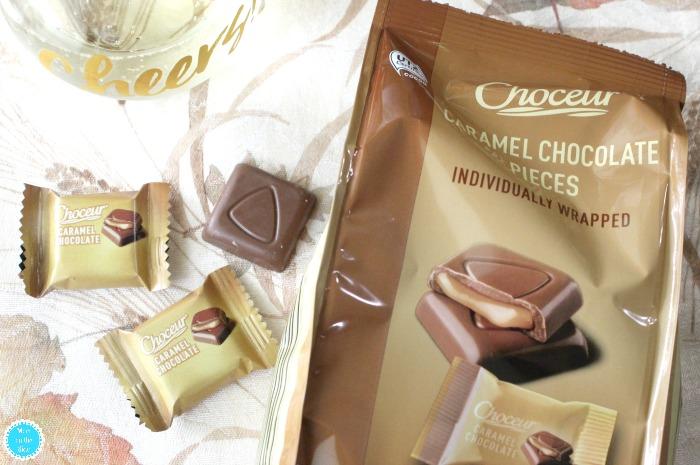 Chocolate Caramel Squares at Aldi