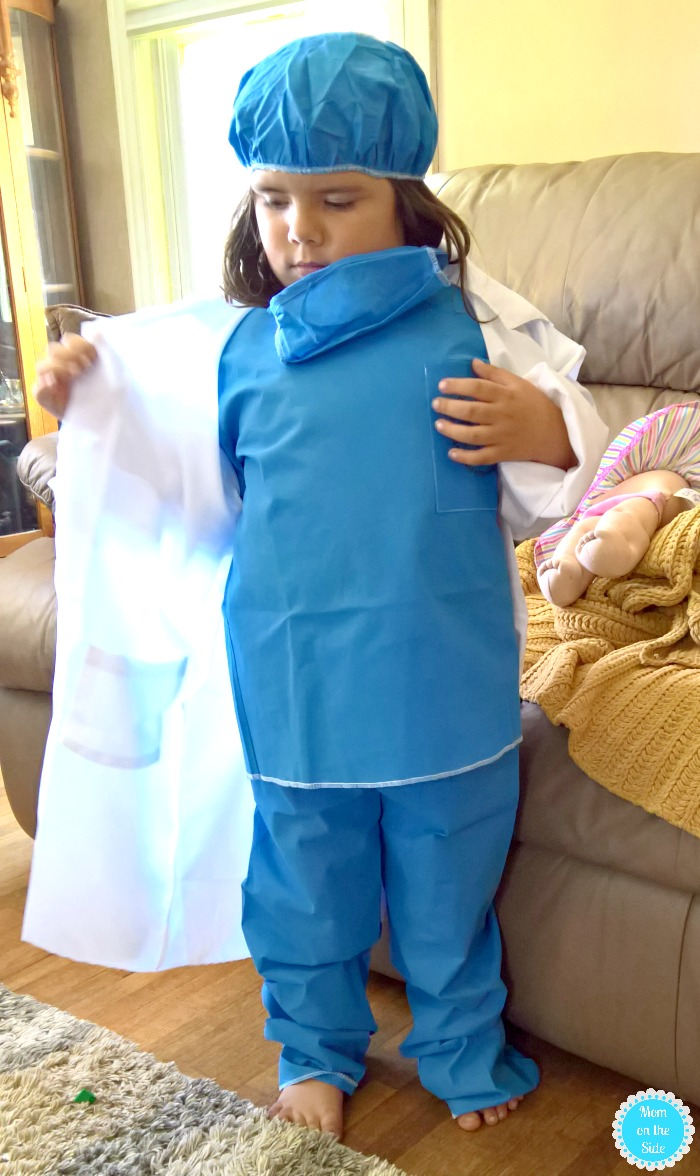 white lab coat halloween costumes for little kids