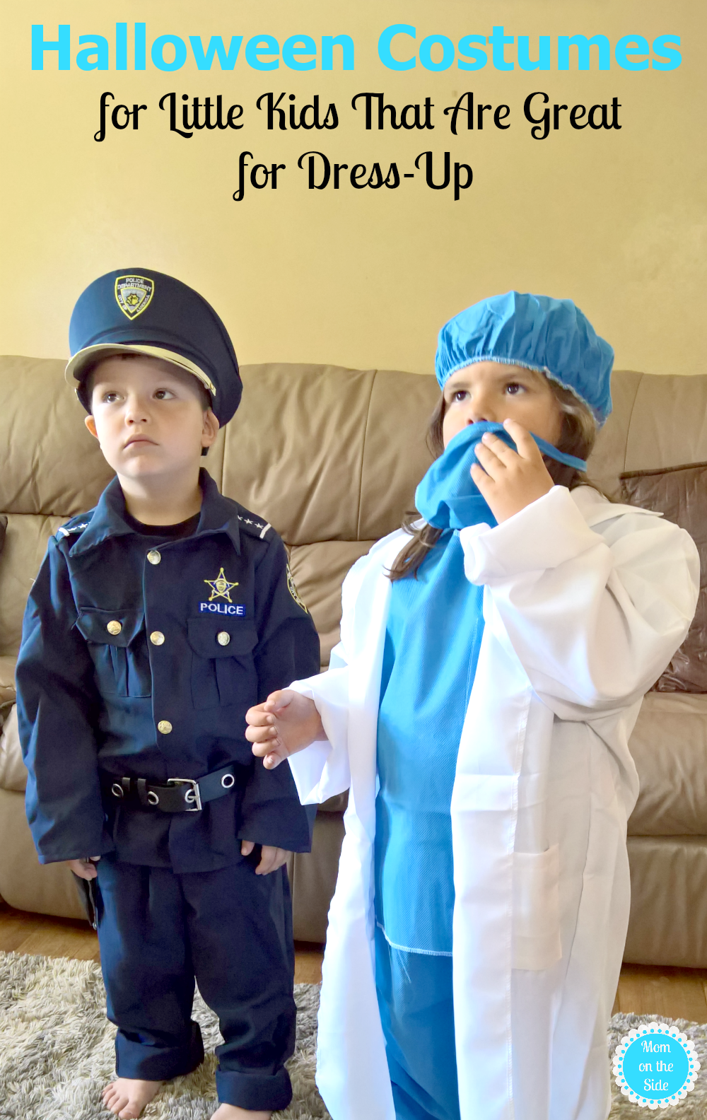 Ideas for Halloween costumes for little kids that are great for dress-up all year long!