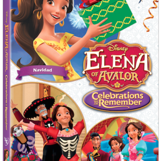 New Elena of Avalor: Celebrations to Remember DVD
