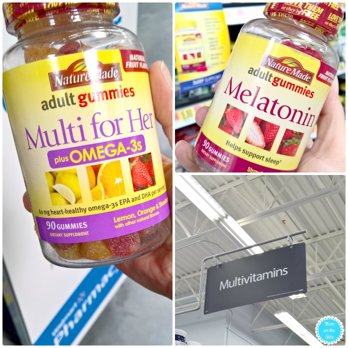 Nature Made Vitamins at Walmart for My Self-Care Kit