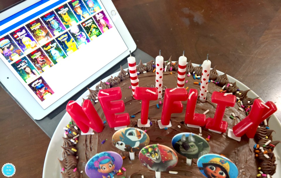 Introducing new Netflix birthday videos for kids on-demand
