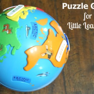 Puzzle Globe for Little Learners
