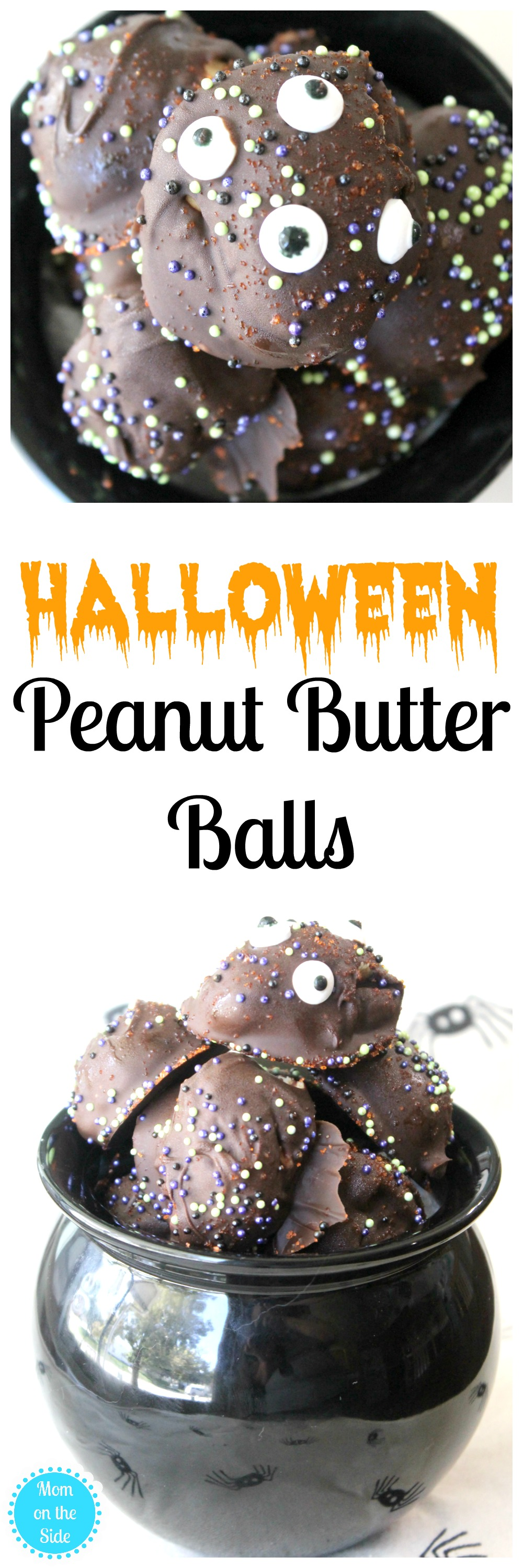 Recipe for Halloween Peanut Butter Balls