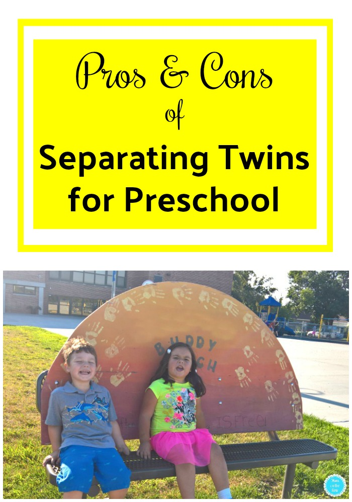 Advice for Moms of Twins: Pros and Cons of Separating Twins for Preschool