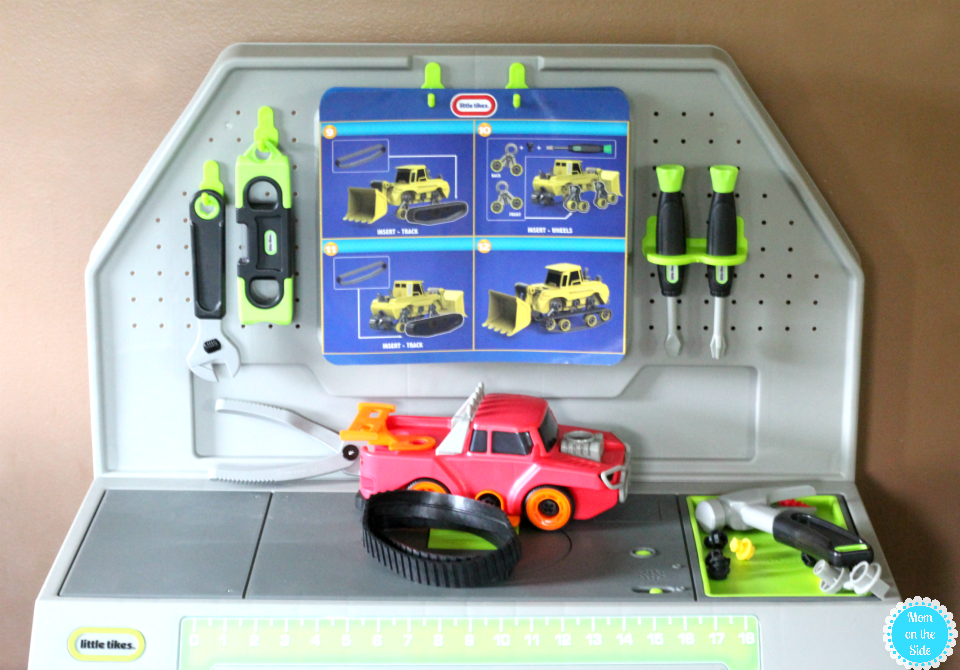 Blue-tooth Enabled Smart Workbench by Little Tikes