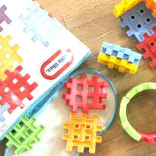 Waffle Blocks for Little Builders