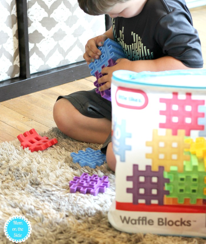 Ways to Build with Waffle Blocks by Little Tikes
