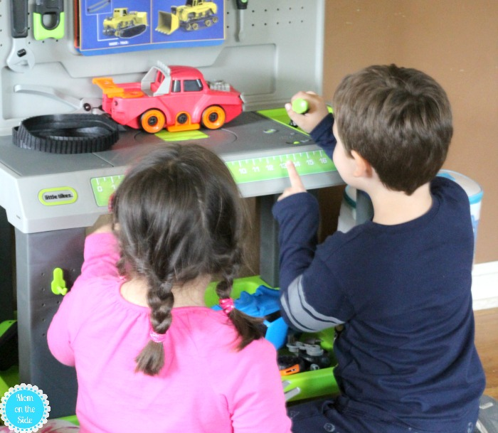 New Smart Workbench by Little Tikes