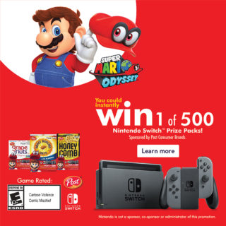 Nintendo Switch Sweepstakes