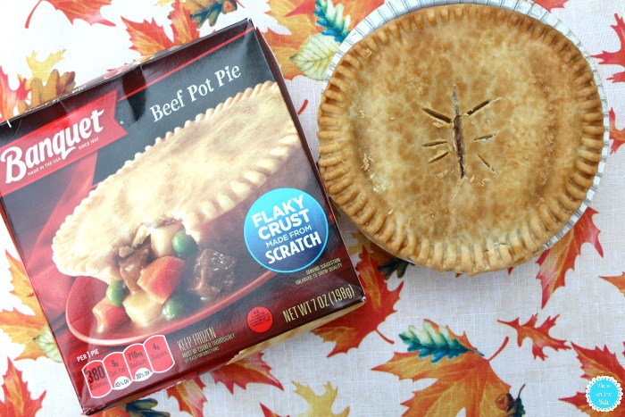 Banquet Beef Pot Pies at Walmart for Easy Fall Dinners