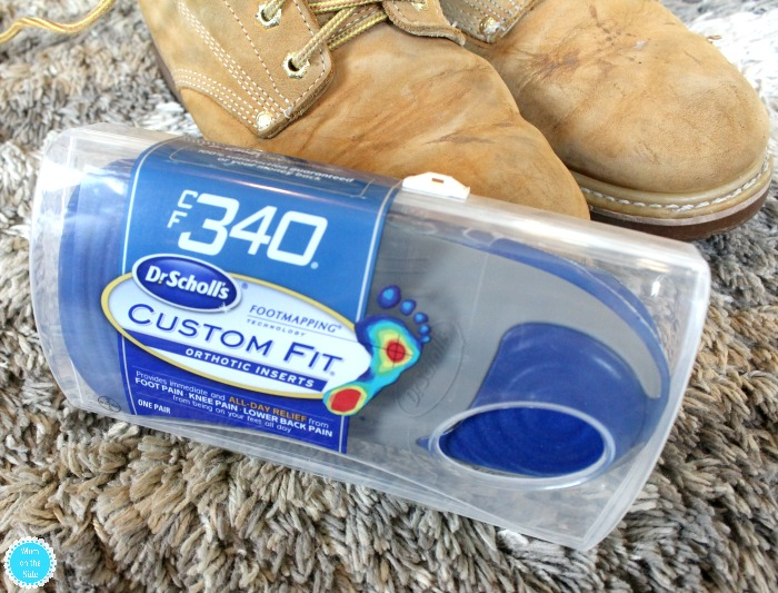 Custom Orthotics from Dr. Scholl's at Walmart to help you stay on your feet for fall dates that make you feel like a kid again!