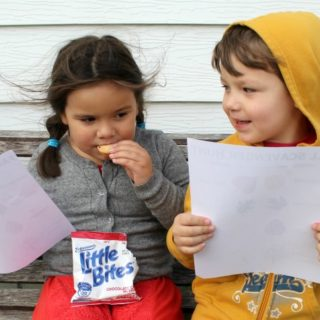 Outdoor Fall Activites for Preschoolers + Printable Scavenger Hunt