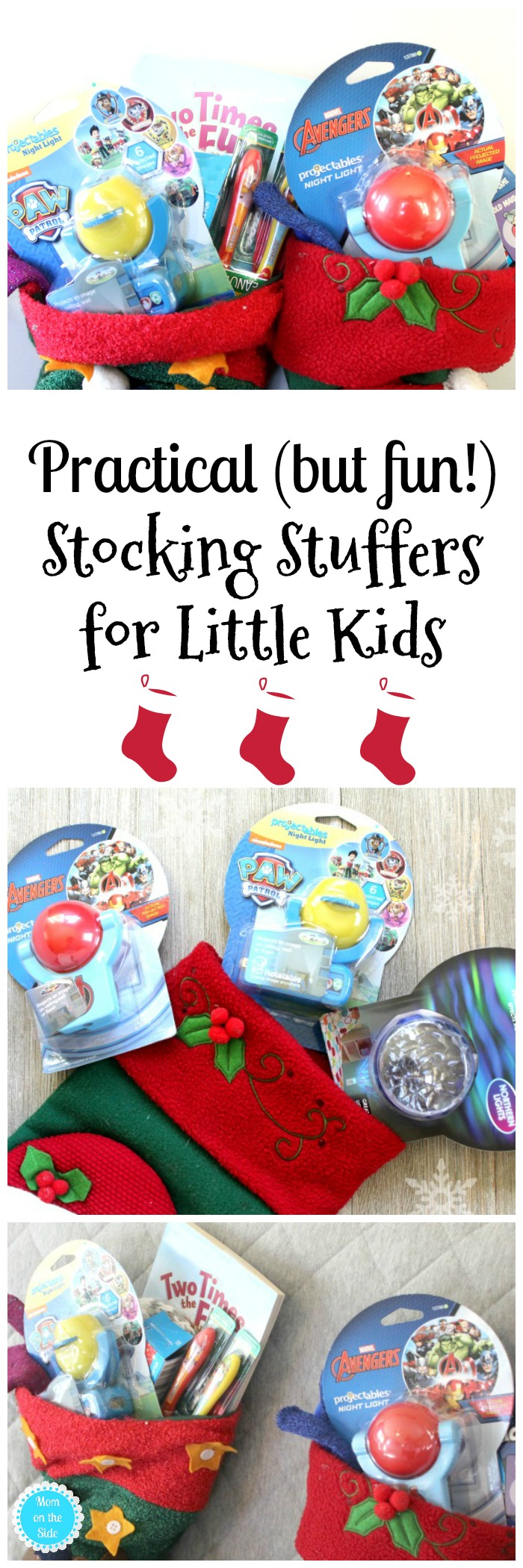 Fun Ideas for Stocking Stuffers for Little Kids including Projectables Night Lights
