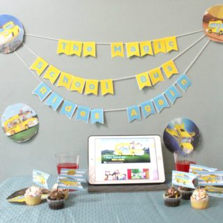 The Magic School Bus Rides Again + Party Printables