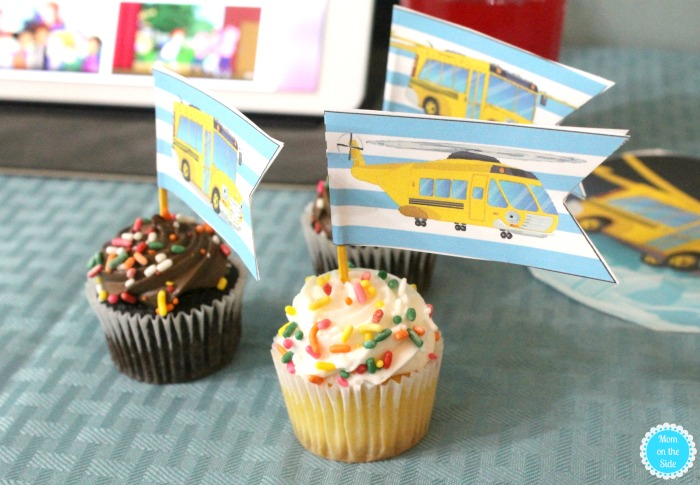 Free Printable The Magic School Bus Party Printables and Decorations