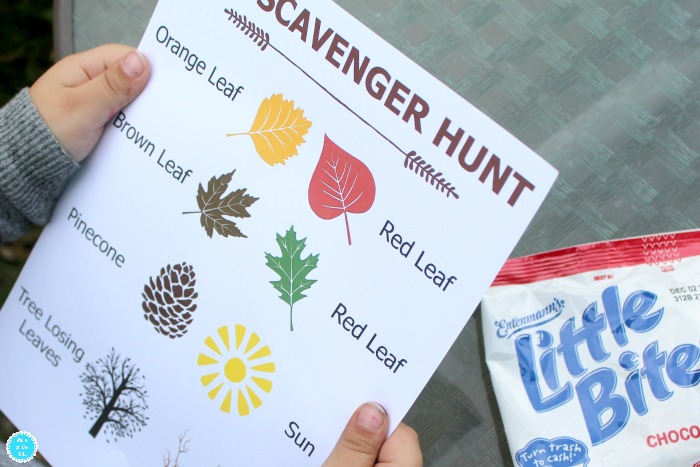 Free Printable Fall Scavenger Hunt for Preschoolers