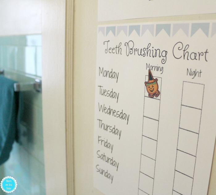 Fun Printable Teeth Brushing Chart and Things I Didn't Know About Dental Health for Tiny Smiles